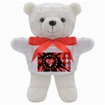 Love Heart Splatter Teddy Bear