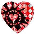 Love Heart Splatter Jigsaw Puzzle (Heart)