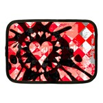 Love Heart Splatter Netbook Case (Medium)