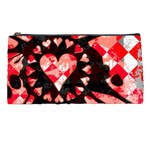 Love Heart Splatter Pencil Case