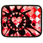 Love Heart Splatter Netbook Case (XXL)