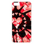 Love Heart Splatter Apple iPhone 5 Seamless Case (White)