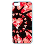 Love Heart Splatter Apple Seamless iPhone 5 Case (Color)