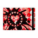 Love Heart Splatter Apple iPad Mini Flip Case