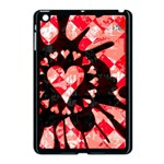 Love Heart Splatter Apple iPad Mini Case (Black)