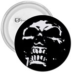Morbid Skull 3  Button