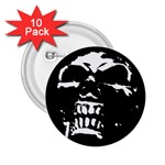 Morbid Skull 2.25  Button (10 pack)