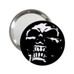 Morbid Skull 2.25  Handbag Mirror