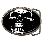 Morbid Skull Belt Buckle