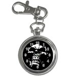 Morbid Skull Key Chain Watch