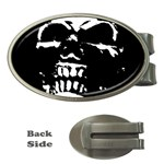 Morbid Skull Money Clip (Oval)