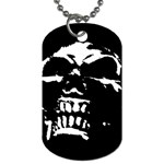 Morbid Skull Dog Tag (One Side)