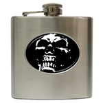 Morbid Skull Hip Flask (6 oz)