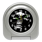 Morbid Skull Travel Alarm Clock