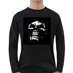 Morbid Skull Long Sleeve Dark T-Shirt