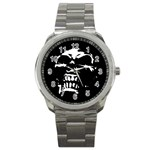 Morbid Skull Sport Metal Watch