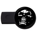 Morbid Skull USB Flash Drive Round (4 GB)