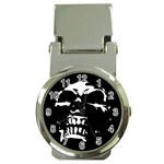 Morbid Skull Money Clip Watch