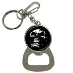 Morbid Skull Bottle Opener Key Chain