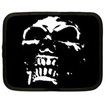 Morbid Skull Netbook Case (Large)