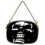 Morbid Skull Chain Purse (One Side)