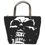 Morbid Skull Bucket Bag