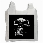 Morbid Skull Recycle Bag (Two Side)