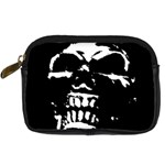 Morbid Skull Digital Camera Leather Case