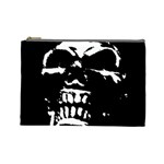 Morbid Skull Cosmetic Bag (Large)