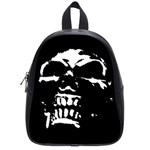Morbid Skull School Bag (Small)