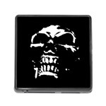 Morbid Skull Memory Card Reader with Storage (Square)