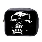 Morbid Skull Mini Toiletries Bag (Two Sides)
