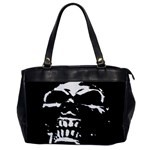 Morbid Skull Oversize Office Handbag (One Side)