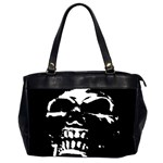 Morbid Skull Oversize Office Handbag (Two Sides)