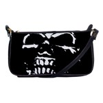 Morbid Skull Shoulder Clutch Bag