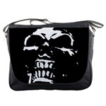 Morbid Skull Messenger Bag