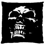 Morbid Skull Large Cushion Case (One Side)