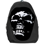 Morbid Skull Backpack Bag