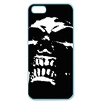 Morbid Skull Apple Seamless iPhone 5 Case (Color)