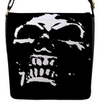 Morbid Skull Flap closure messenger bag (Small)