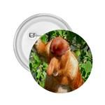 Proboscis Big Nose Monkey 2.25  Button