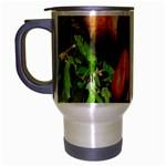 Proboscis Big Nose Monkey Travel Mug (Silver Gray)