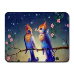 Peaceful And Love Birds Small Mousepad