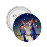 Peaceful And Love Birds 2.25  Button