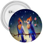 Peaceful And Love Birds 3  Button