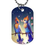 Peaceful And Love Birds Dog Tag (Two Sides)