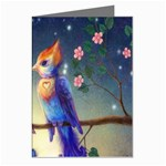 Peaceful And Love Birds Greeting Card