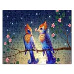 Peaceful And Love Birds Jigsaw Puzzle (Rectangular)