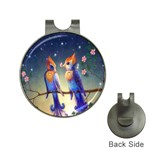 Peaceful And Love Birds Golf Ball Marker Hat Clip