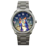 Peaceful And Love Birds Sport Metal Watch